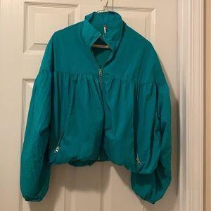 Free People Windbreaker Jacket